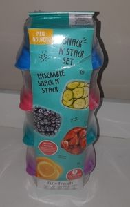 Snack N'Stack set 10 pieces
